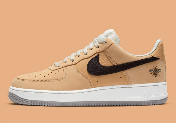 """Nike Air Force 1 Low """"Manchester Bee"""" Braun DC1939-200"""